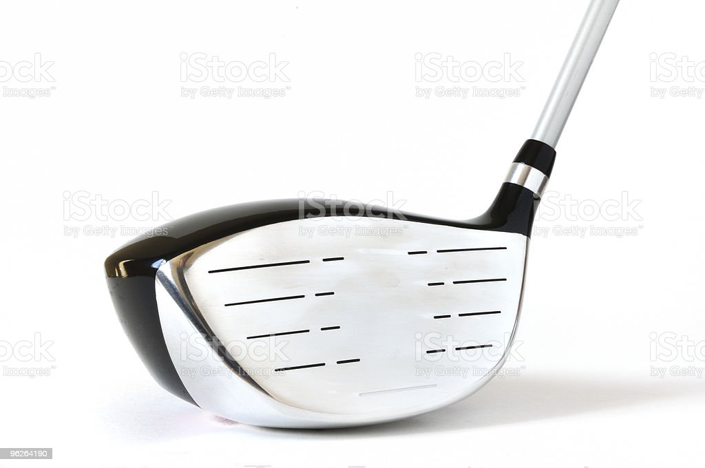 Golf Club, Driver (One Wood) royalty-free stock photo