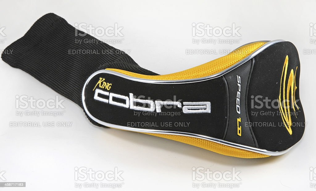 Golf Club Headcover royalty-free stock photo
