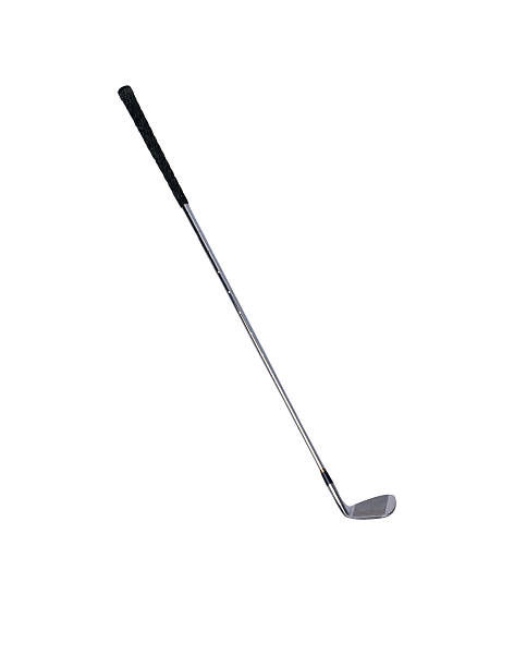 golf club isolated over a white - golf clubs stock photos and pictures