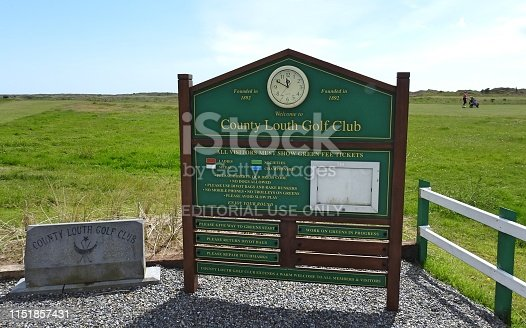 21st May 2019, Baltray, Drogheda, County Louth, Ireland. Image from County Louth Golf Club.