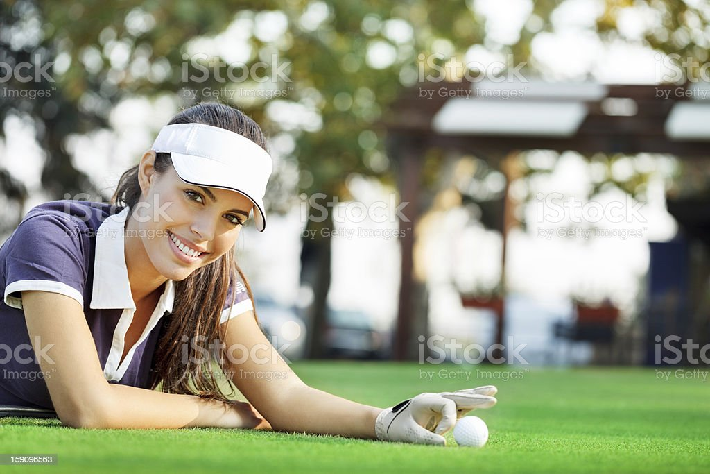 Golf club royalty-free stock photo