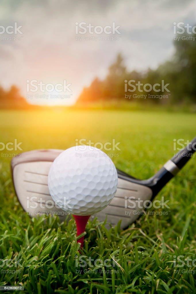 Golf club - Lizenzfrei Aktivitäten und Sport Stock-Foto