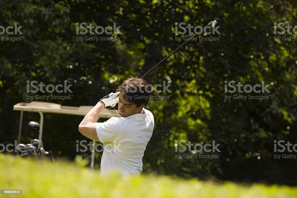 club de Golf foto de stock libre de derechos