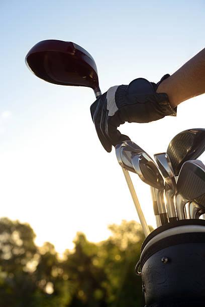 Golf-clubs – Foto