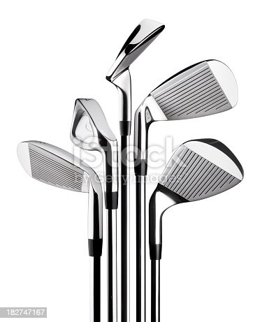 Golf clubs. Photography in high resolution.Some similar pictures from my portfolio:
