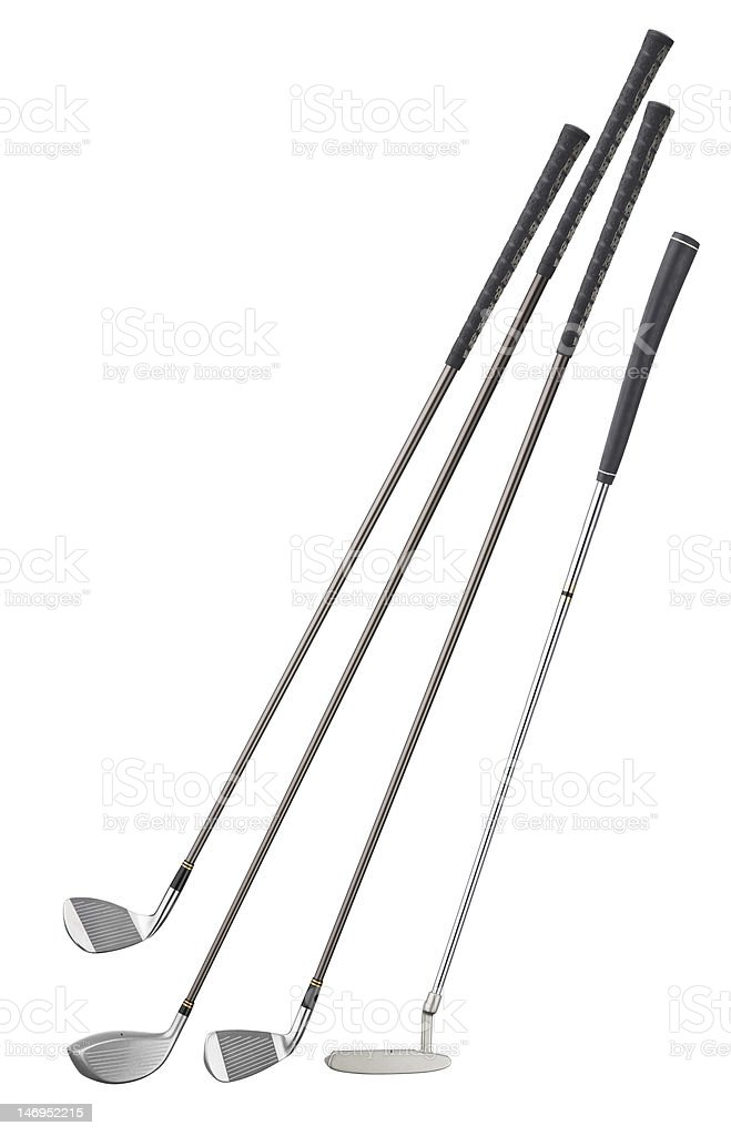 Golf Clubs XXXL stock photo