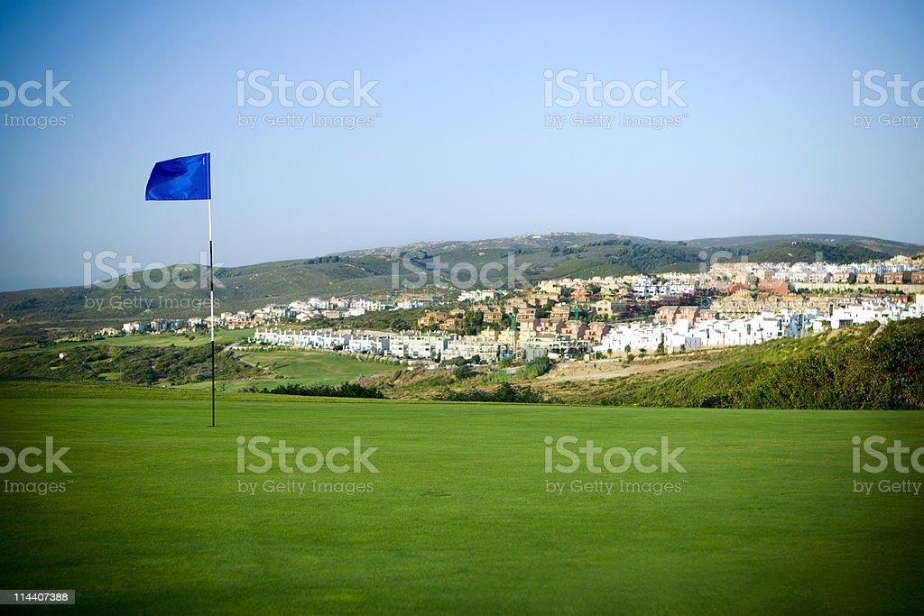 Golf Community royalty-free stock photo