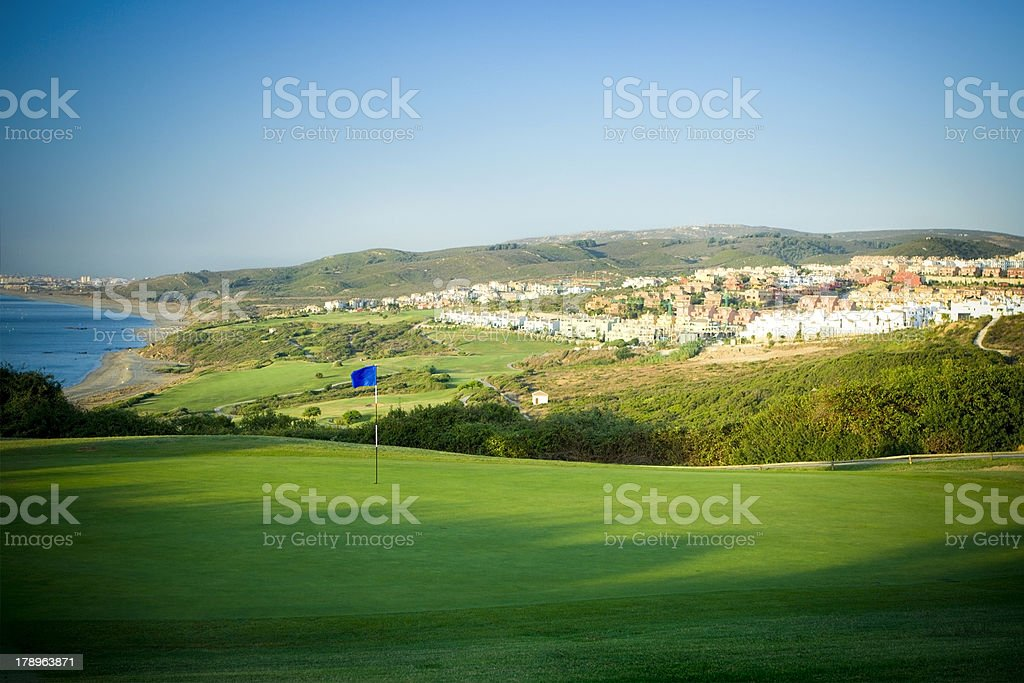 Golf Community royalty-free stock photo