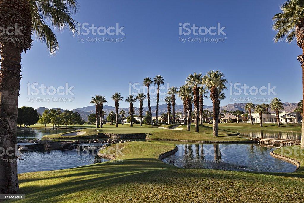 Golf Community stock photo