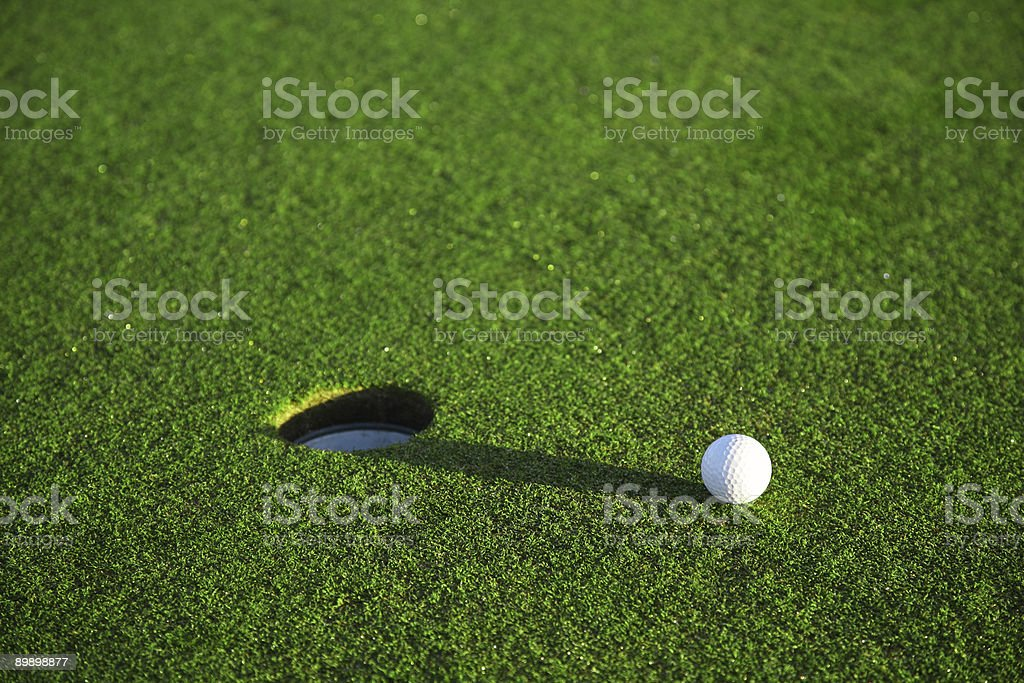 Golf course details royalty free stockfoto