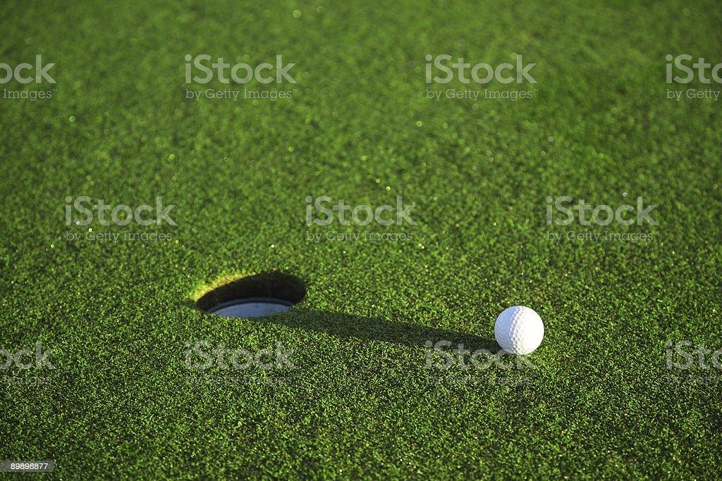 Detalles del campo de Golf foto de stock libre de derechos