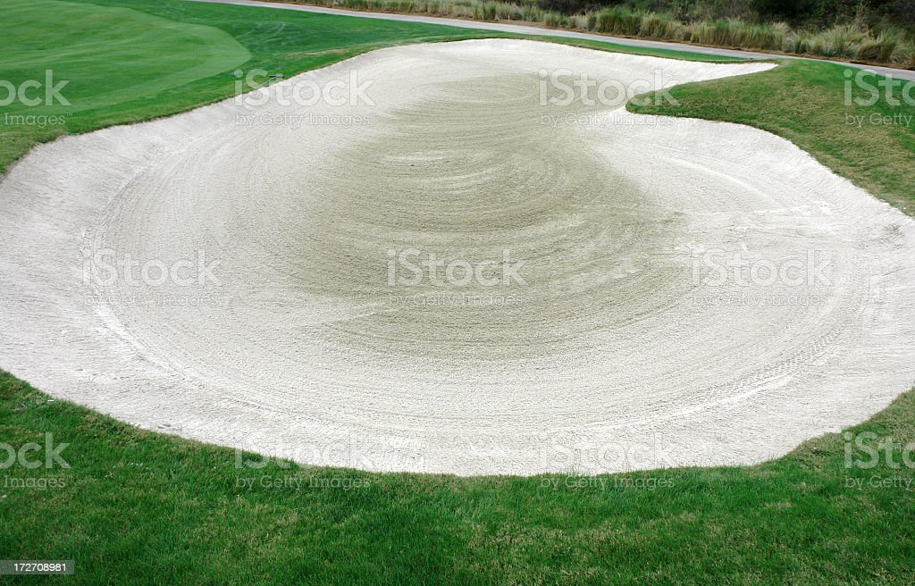 Golf Course Florida Winter Series royalty-free stock photo