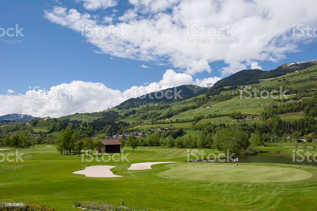 Golfplatz Green in Mountain-Bereich – Foto
