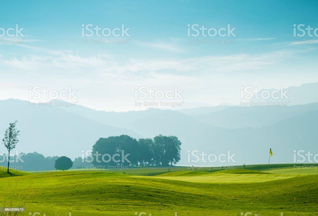 Golfplatz in Attersee, Österreich – Foto