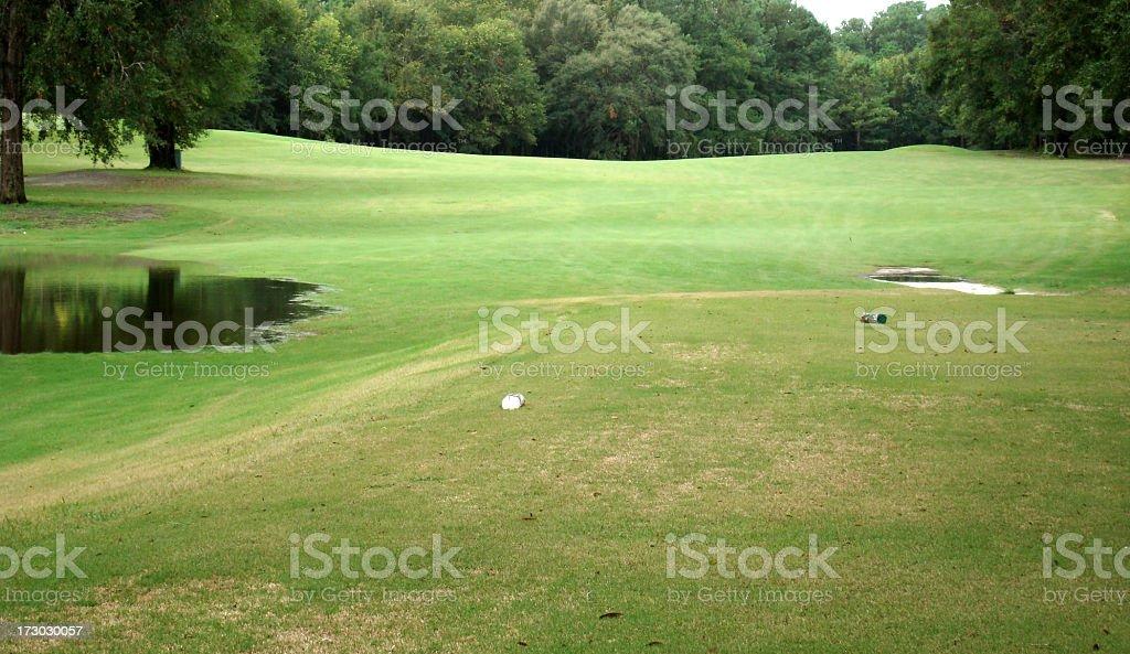 Golf Course In Florida stock photo