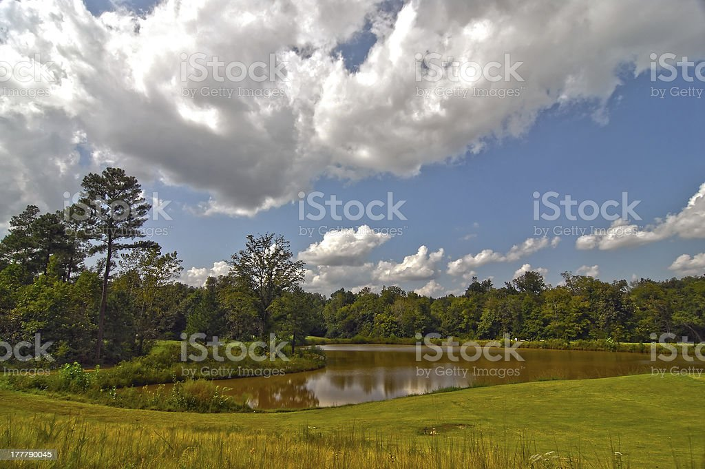 golf course landscape royalty-free stock photo
