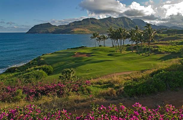 Golfplatz auf Kauai in Nawiliwili – Foto