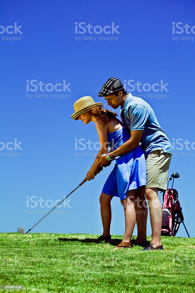 Golf course  25-29 Years Stock Photo