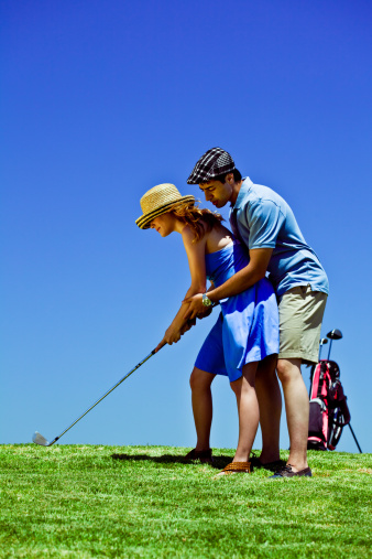 Golf Course Stock Photo - Download Image Now