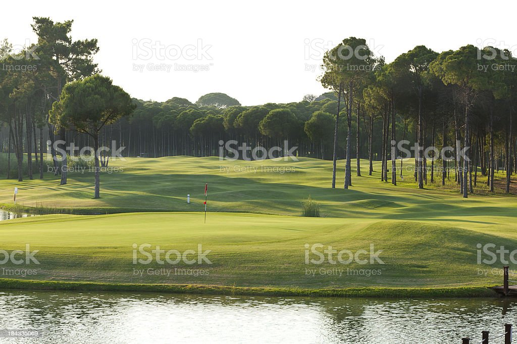 Golf Course stock photo