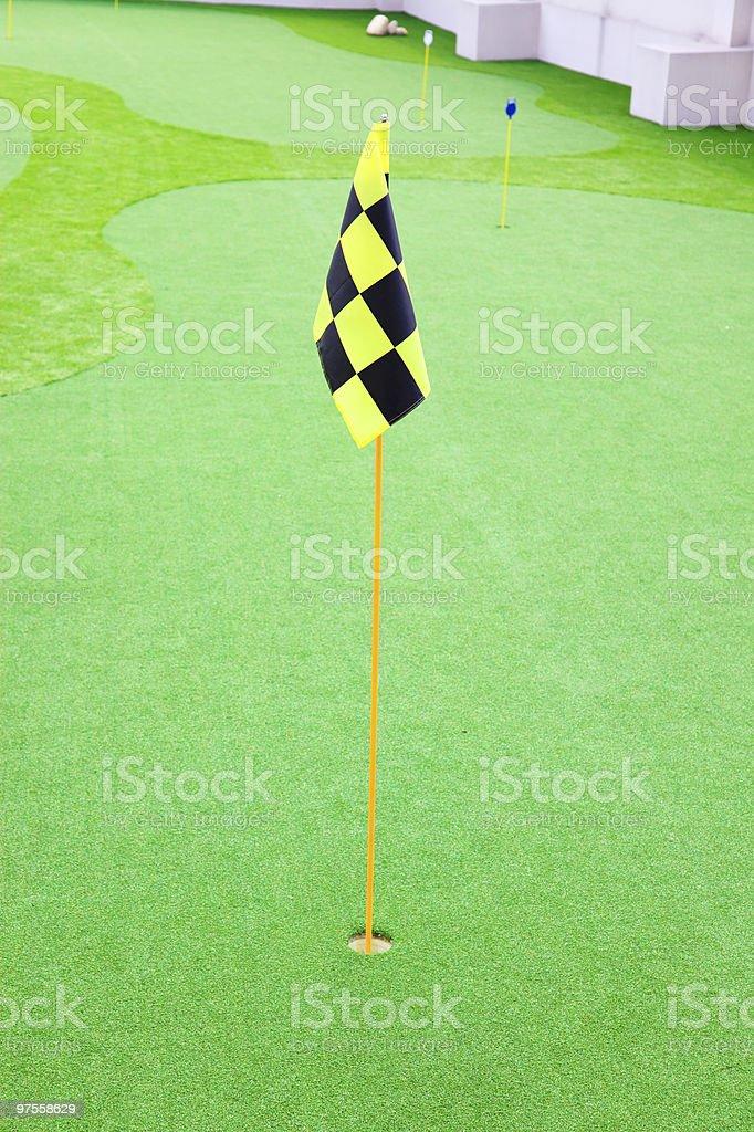 Parcours de Golf photo libre de droits