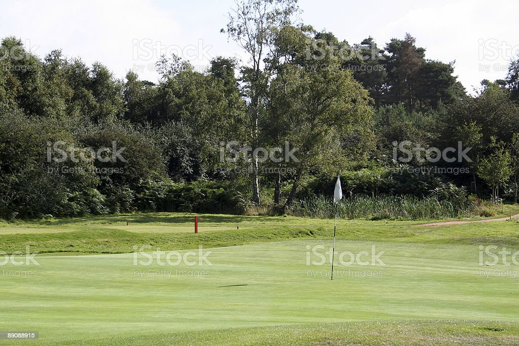 Golf course series 3 royalty-free stock photo