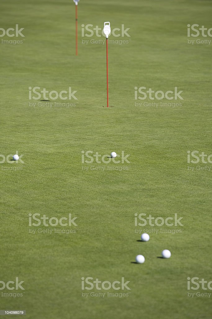 Golf Course Series royalty-free stock photo