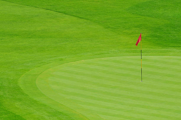 Golf Course - XLarge Golf Course green golf course stock pictures, royalty-free photos & images