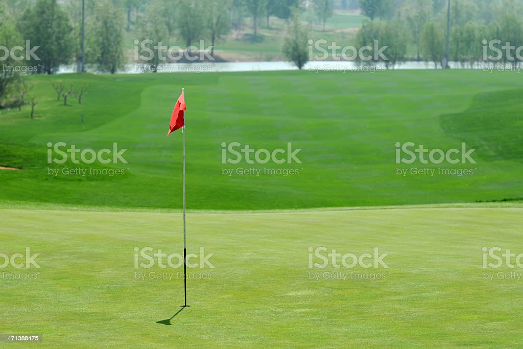Golf Course - XLarge royalty-free stock photo