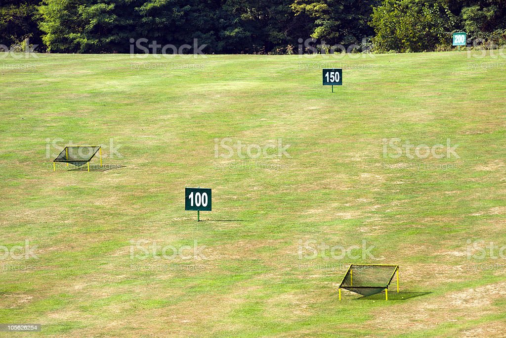 Golf curse royalty-free stock photo