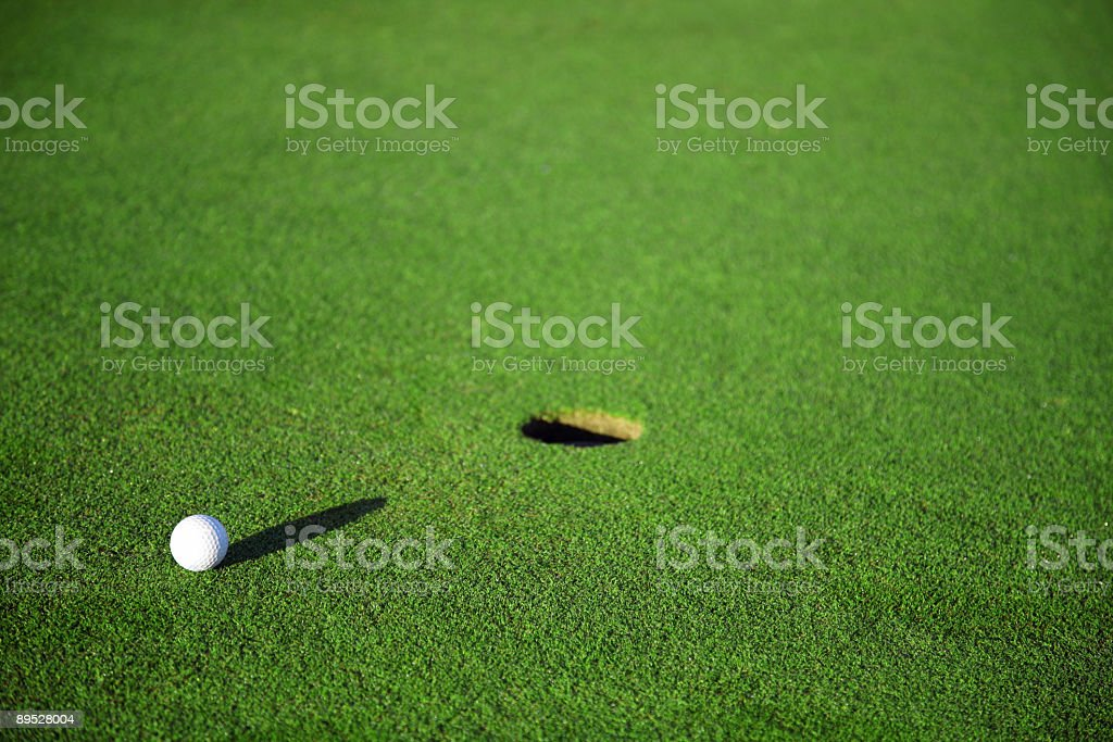 Golf details royalty-free stock photo