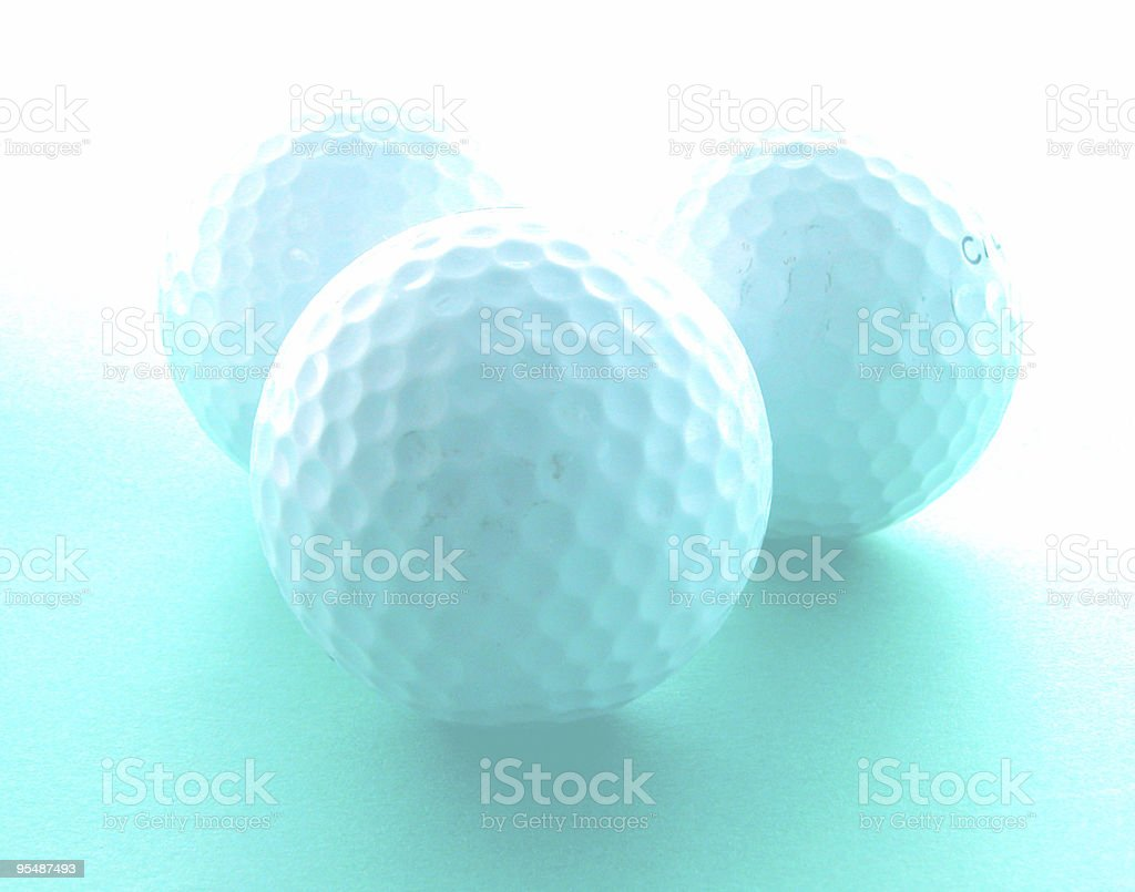 Golf dreaming royalty-free stock photo