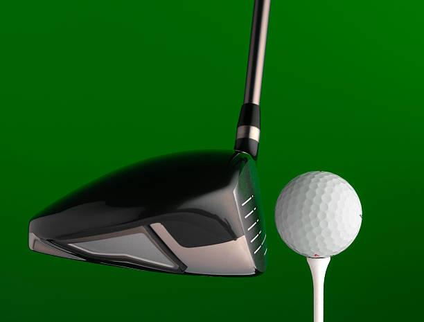 golf driver - schiebermütze stock-fotos und bilder