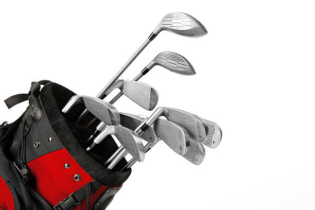 golf equipment - golf clubs stock photos and pictures