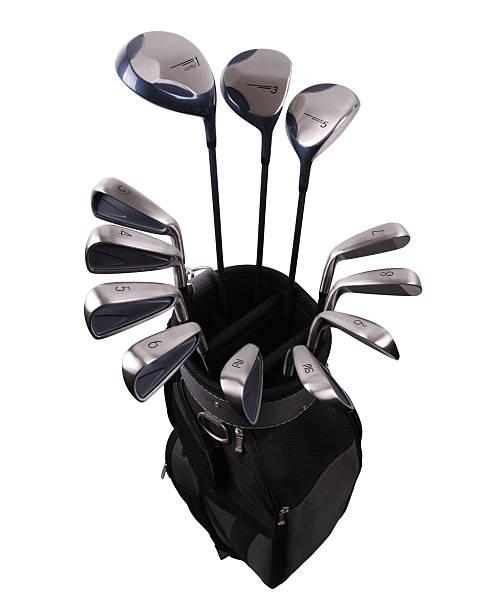 golfausrüstung-xxl - schiebermütze stock-fotos und bilder