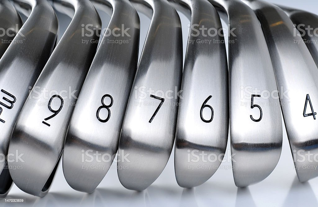 Golf Equipments stock photo
