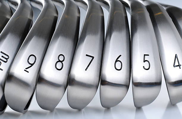 golf equipments - golf clubs stock photos and pictures