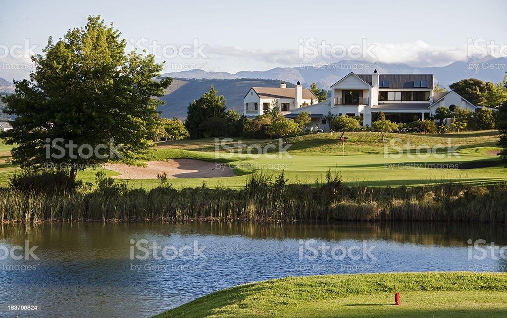 Golf Estate stock photo