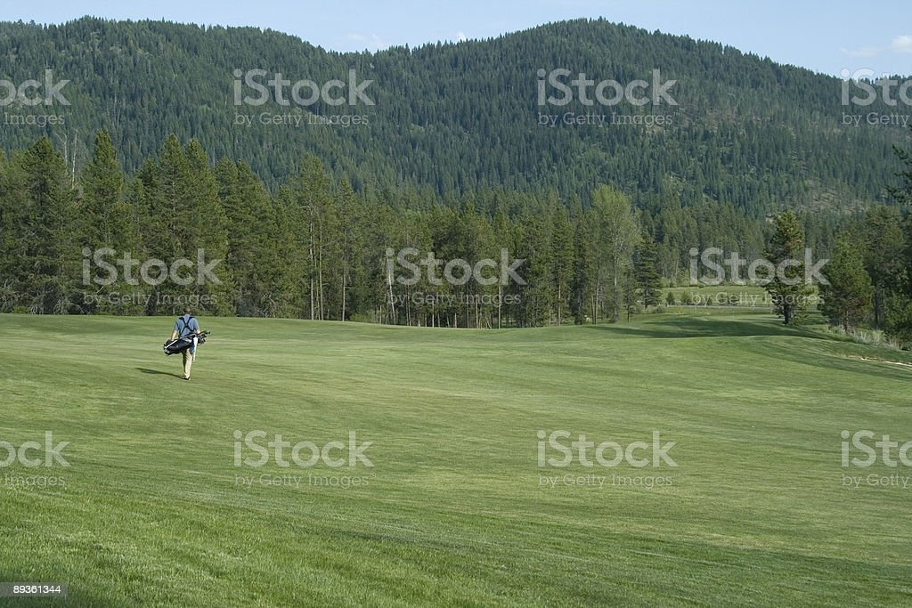 Fairway Golf 2 foto stock royalty-free