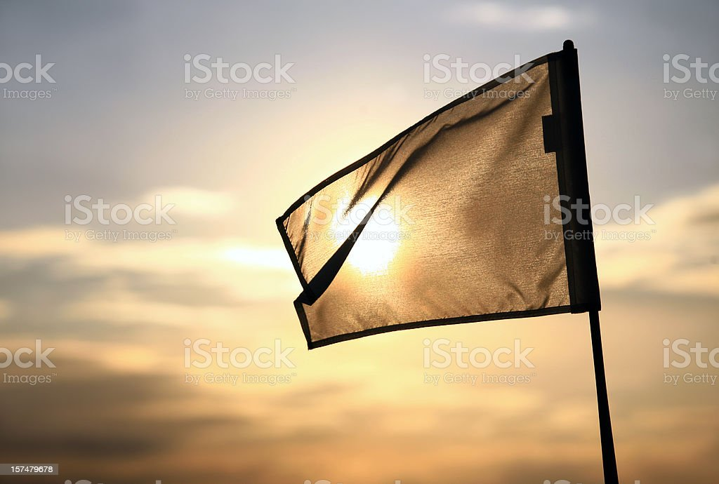 Golf Flag royalty-free stock photo