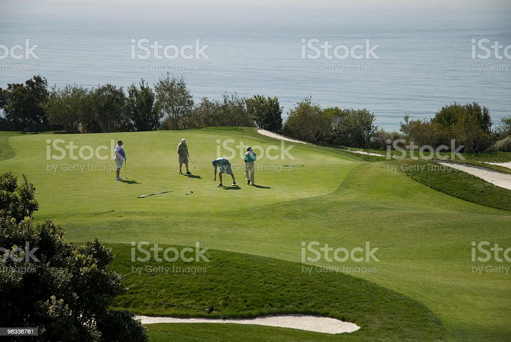 Golf for Friends royalty-free stock photo