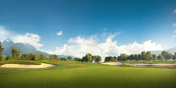 golf: golf course - golf stock photos and pictures