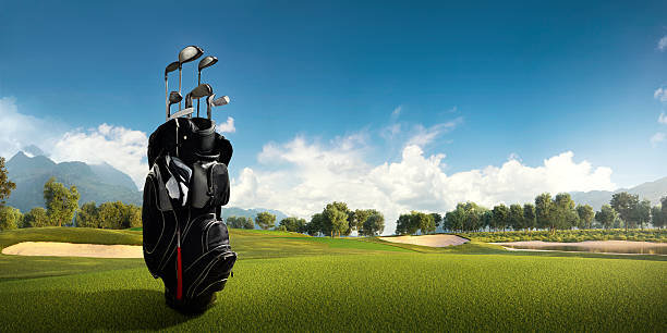 golf: golf course - golf clubs stock photos and pictures
