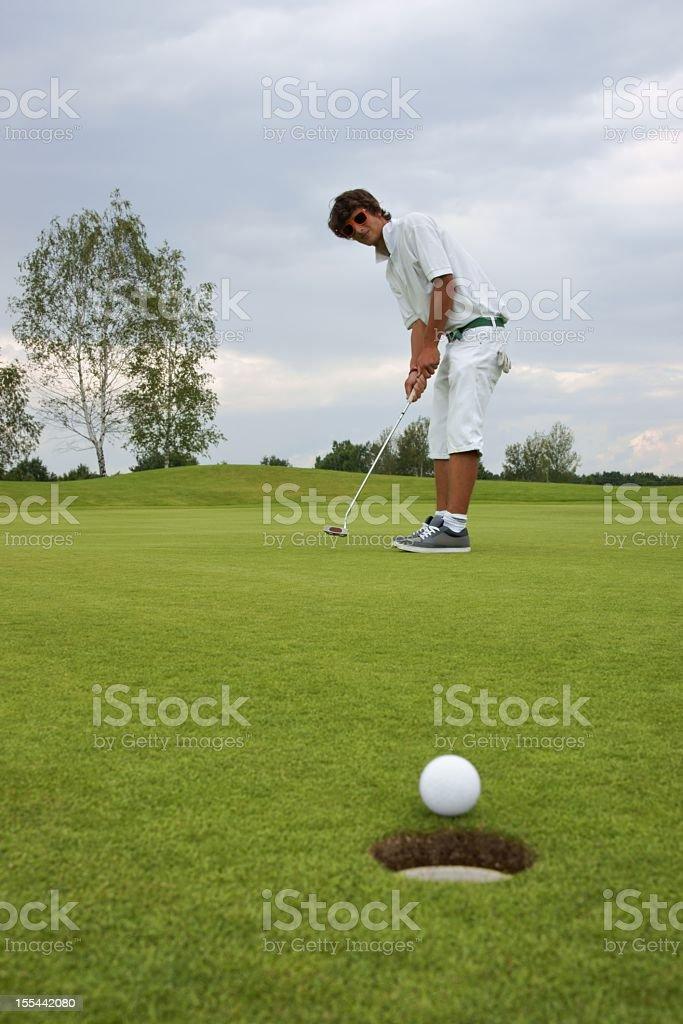 Golf, Golfer royalty-free stock photo
