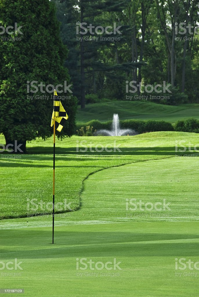 Golf Green at New Jersey Country Club royalty-free stock photo
