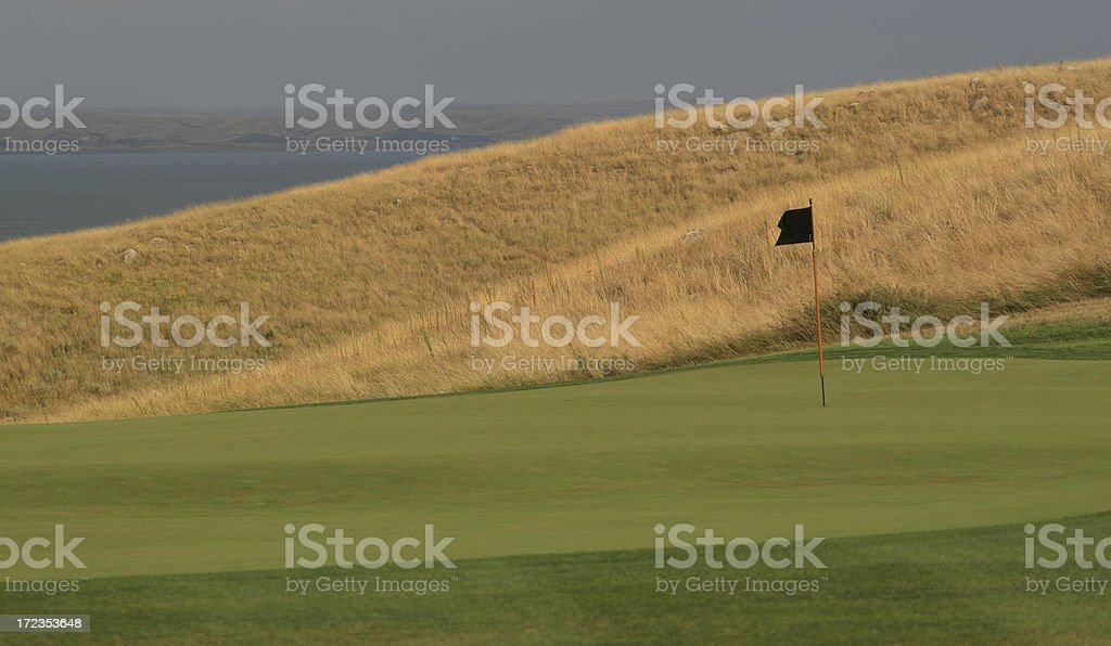 Green de Golf foto de stock libre de derechos