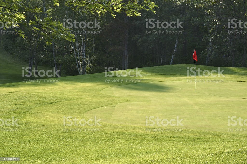 Golf green - Royalty-free Copy Space Stock Photo