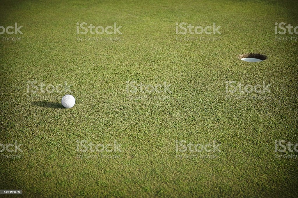 Verde Golf foto stock royalty-free