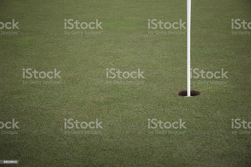 golf hole 02 royalty-free stock photo
