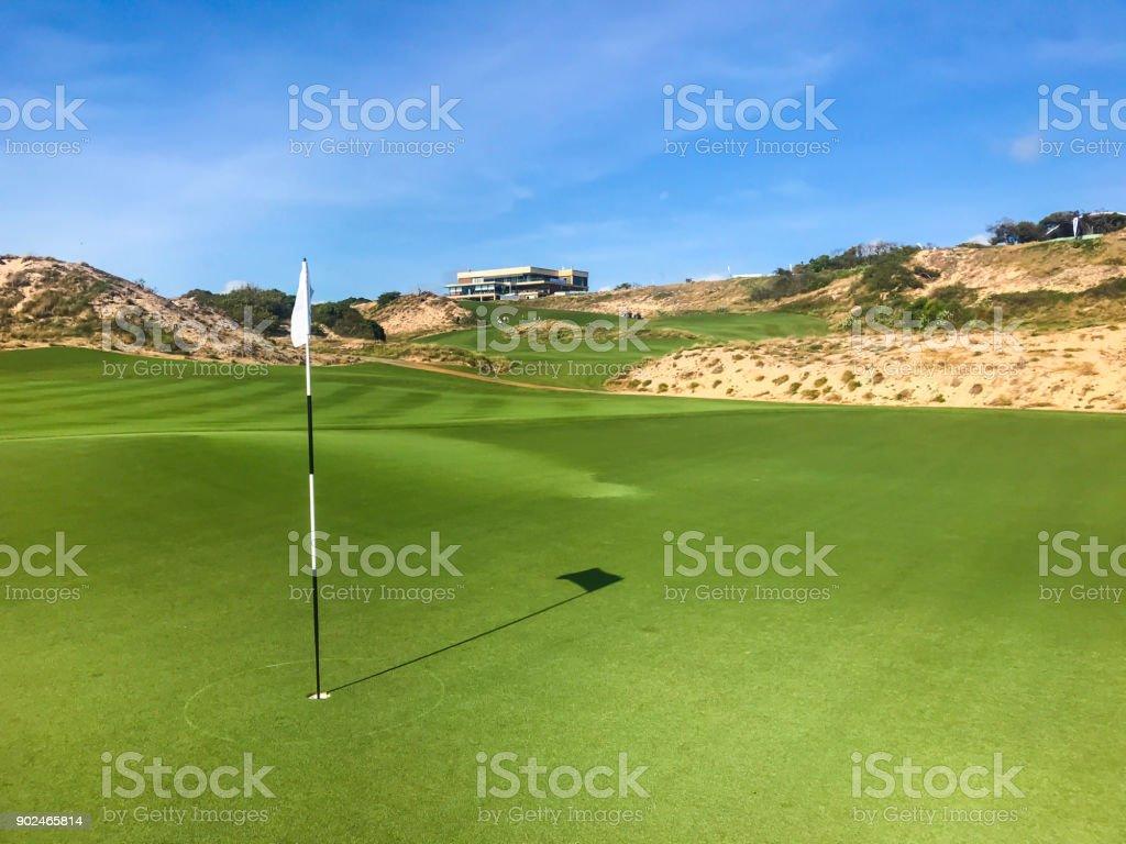 Golf in Vietnam stock photo
